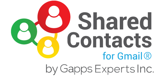 Shared Contacts for Gmail ®